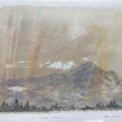 "Mount Romulus     15"" x 22"""