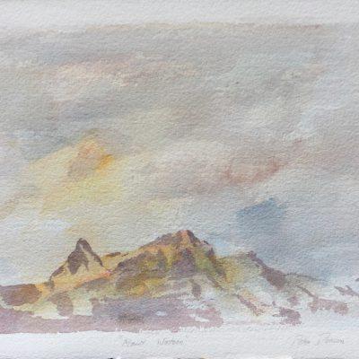 """Mount Watson      15"""" x 22"""""""