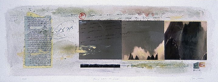 "Landscape and Memory Series     11"" x 30"""